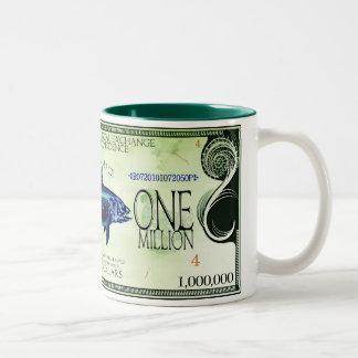 Coelacanth-Ecodollars Two-Tone Coffee Mug