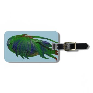 Coelacanth Fossil replica Luggage Tag
