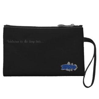 Coelacanth Mini Clutch Bag Black