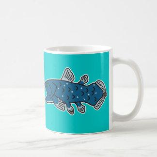 "Coelacanth Mug ""WELCOME TO THE DEEP SEA"""