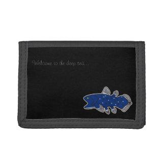 Coelacanth Nylon Wallet Black