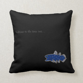 Coelacanth Pillow Black