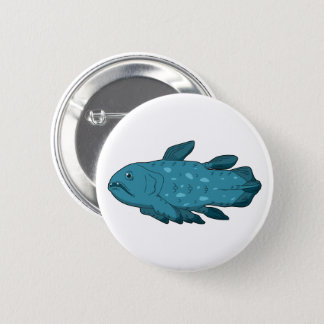 Coelacanth Pinback Button