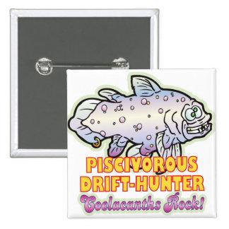 Coelacanth piscívoro pins