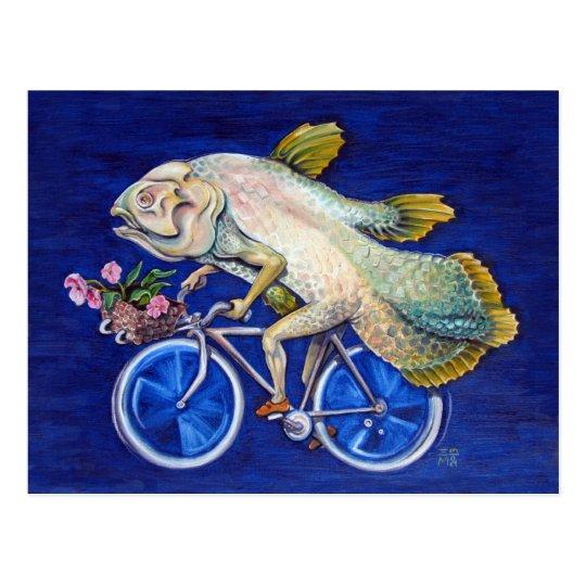 Coelacanth Postcard