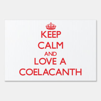 Coelacanth Signs