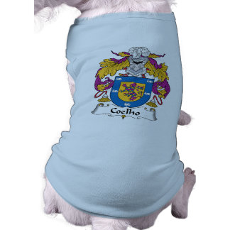 Coelho Family Crest Doggie T-shirt