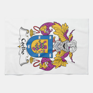 Coelho Family Crest Kitchen Towels