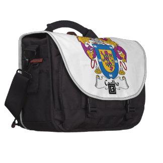Coelho Family Crest Laptop Computer Bag