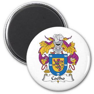 Coelho Family Crest Fridge Magnets