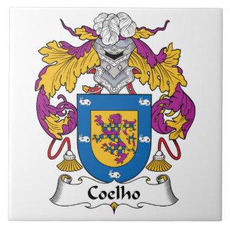 Coelho Family Crest Tiles