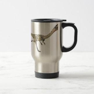 Coelophysis Dinosaur in Profile Travel Mug