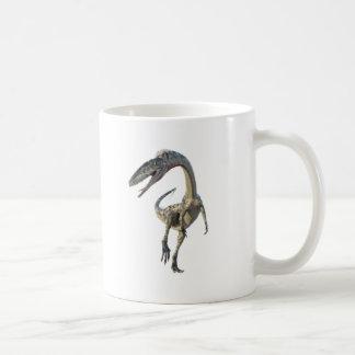 Coelophysis Dinosaur Runiing to the Front Coffee Mug