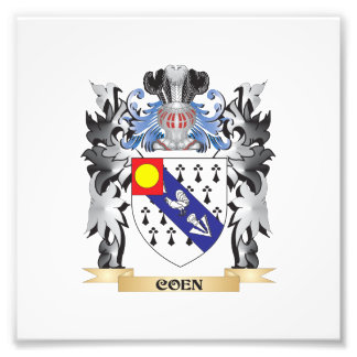 Coen Coat of Arms - Family Crest Photo Print