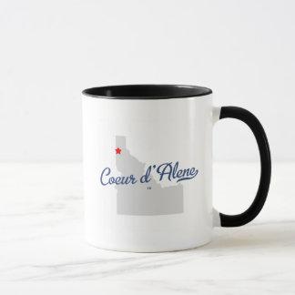 Coeur D'alene Idaho ID Shirt Mug