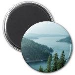 Coeur dAlene Lake 2 Inch Round Magnet