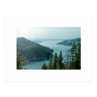 Coeur dAlene Lake Post Cards