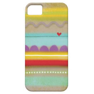 Coeur del par del illustré de cas del l'iphone 5 iPhone 5 carcasa