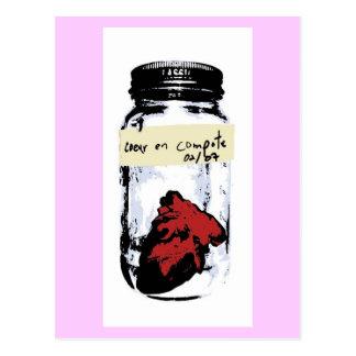 Coeur En Compote Postcard