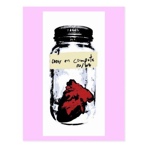 Coeur En Compote Postcards