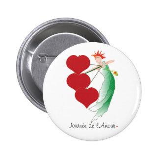 Coeurs d'Amour Button