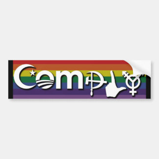 Coexist Comply Bumper Sticker