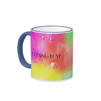 COEXIST=LOVE Mug
