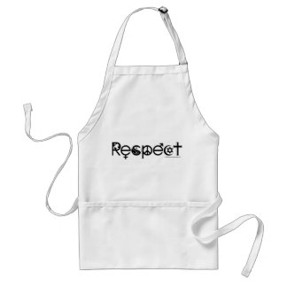 Coexist with Respect - Peace Kindness & Tolerance Adult Apron