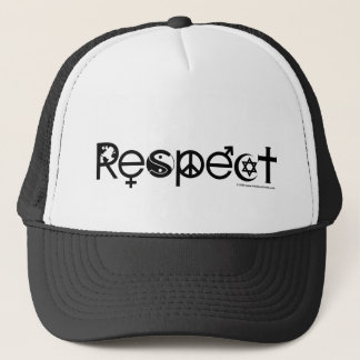 Coexist with Respect - Peace Kindness & Tolerance Trucker Hat