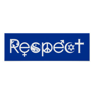 Coexist With Respect Poster