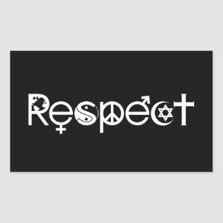 Coexist With Respect Stickers
