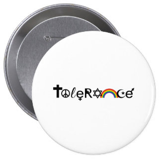 COEXIST WITH TOLERANCE - png Pinback Button