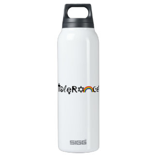 COEXIST WITH TOLERANCE -.png 16 Oz Insulated SIGG Thermos Water Bottle