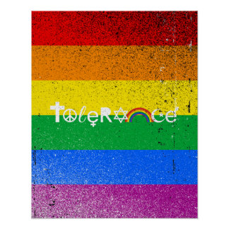 Tolerance Posters | Zazzle