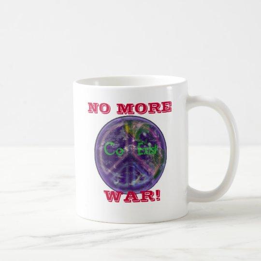 CoExist World Peace NO MORE, WAR! Mug