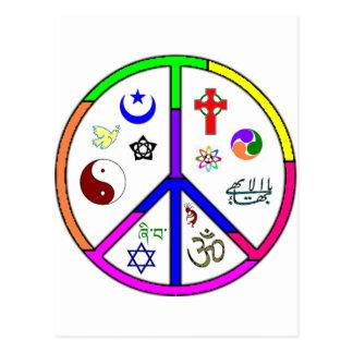 Coexistencia pacífica postales
