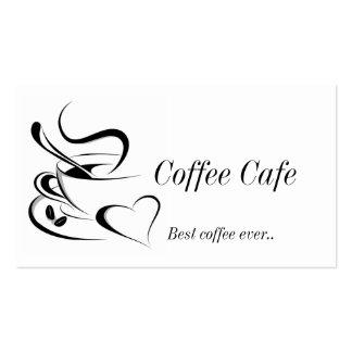 Cofee business card