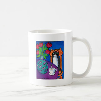 cofee cat & me coffee mug