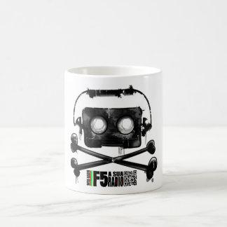 COFEE & TEA I RADIATE F5 CLASSIC WHITE COFFEE MUG