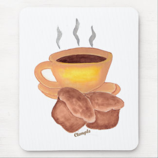 COFFE AND MUFFINS MOUSE PAD