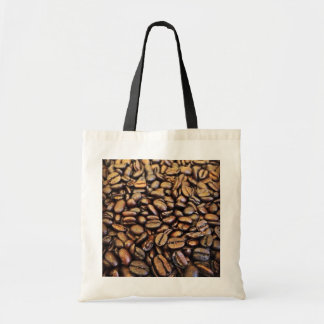 coffe beans budget tote bag