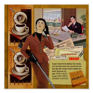 Coffe Brake Poster