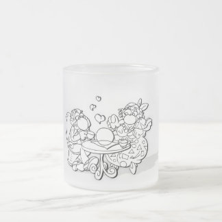 coffe-in frosted glass coffee mug