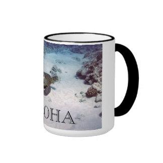 Coffe Mug Aloha Sea Turtles
