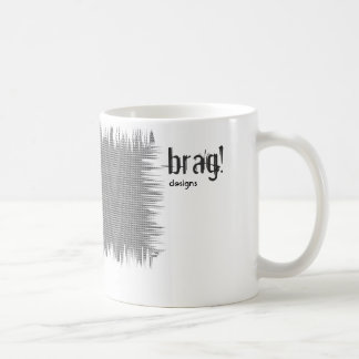 coffe mug blue afro woman brag!