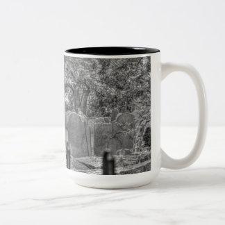 Coffe Mug with Graveyard