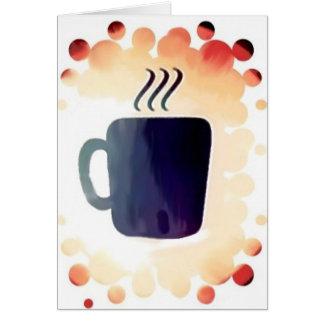 Coffe:  No está apenas para el desayuno Tarjeta De Felicitación