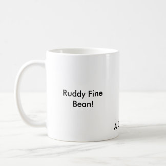 Coffe or Tea, it's all good in me! Classic White Coffee Mug