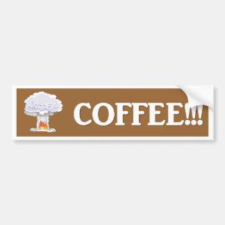 coffee-02 bumper sticker