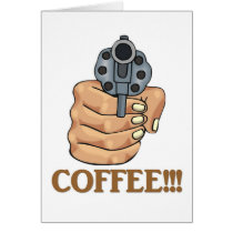 coffee-03 greeting card